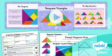 PlanIt Y3 Properties of Shapes SolveIt Lesson Pack
