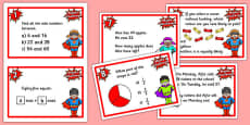 Year 3 Maths Challenge Cards