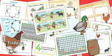 The Little Red Hen KS1 Lesson Plan Ideas and Resource Teaching Pack
