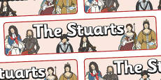 The Stuarts Display Banner