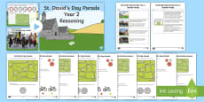 St. David's Day Parade Year 2 Reasoning Resource Pack