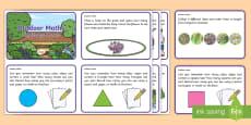 EYFS Outdoor Maths Challenge Cards