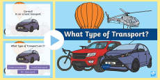 What Type Of Transport PowerPoint Quiz
