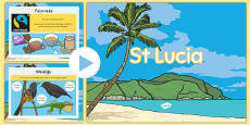 St Lucia Lesson Teaching PowerPoint