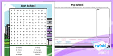 PlanIt - French Year 3 - Our School Home Learning Tasks