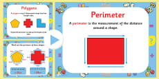 How to Calculate Polygon Perimeters PowerPoint