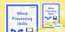 Computing: Word Processing Skills Year 3 Unit Book Cover