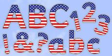 Display Lettering & Symbols (USA)