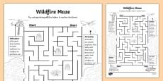 Alberta's Wildfire Maze