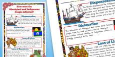 Australia - Aboriginal and Torres Strait Islander People Information Poster A2