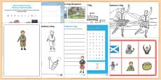Top Ten KS1 Saint Andrew's Day  Activity Pack
