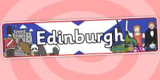 Edinburgh Role Play Banner