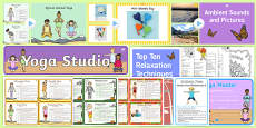 KS1 National Stress Awareness Day Resource Pack