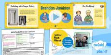 Art: Let's Sculpt: Brendan Jamison KS1 Lesson Pack 5