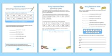 Imperative Verbs Bossy Words Activity Sheet