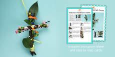Natural Materials Cross Craft Instructions
