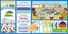* NEW * EYFS Classroom Set Up Resource Pack