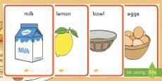 Pancake Day Recipe Display Posters