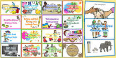 Continuous Provision Challenge Card Resource Pack