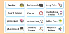 Crystals Themed Editable Additional Classroom Resource Labels