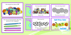 PlanIt Y1 Multiplication and Division Challenge Cards