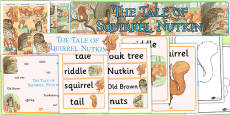 The Tale of Squirrel Nutkin Story Sack