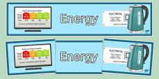 Energy Display Banner