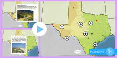 Texas Geographical Picture Hotspots