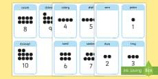 Karty Liczby od 1 do 10