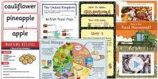 KS1 British Food Fortnight Resource Pack