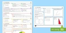 Half Term 2 Lower Ability Maths Activity Mats