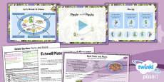PlanIt - D&T LKS2 - Edible Garden Lesson 2: Pesto and Pasta Lesson Pack