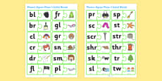 Phonics Jigsaw Phase 4 Initial Blends