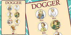 Vocabulary Poster to Support Teaching on Dogger