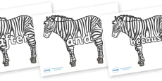 Connectives on Zebras