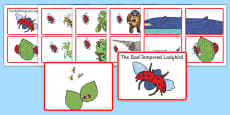 Story Sequencing Cards to Support Teaching on The Bad Tempered Ladybird