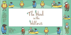 The Wind in the Willows Display Borders
