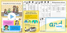 PlanIt Y1 SPaG Lesson Pack: Joining Words and Clauses using and