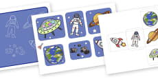 Space Themed Past Tense Activity (Lower)
