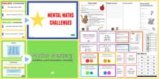 Mental Maths Games Resource Pack