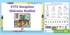 EYFS Reception Welcome Pack