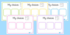 Choice Board
