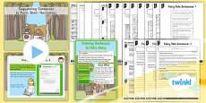 PlanIt Y1 SPaG Lesson Pack: Sequencing Sentences to Form Short Narratives