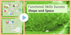 Functional Skills Shape and Space Success PowerPoint