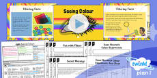 Science: Light: Seeing Colours Year 6 Lesson Pack 5