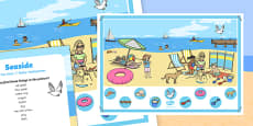 The Seaside Can you Find...? Poster and Prompt Card Pack