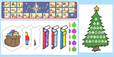 Australia - Ready Made Advent Display Pack