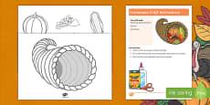 Cornucopia Craft Instructions