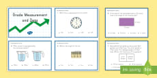 3rd Grade Measurement and Data Online Assessment Practice Activity