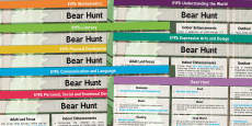 EYFS Lesson Plan and Enhancement Ideas to Support Teaching on Bear Hunt